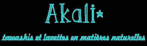 Akali Tawashis et lavettes en matières naturelles