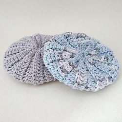 Duo tawashis gris bleu 10 cm