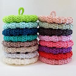 Tawashis coton 9 cm couleurs